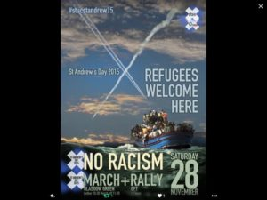 Up coming rally assemble Glasgow Green 10.30 march off at 11am